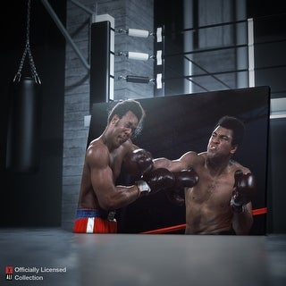 IKONICK Muhammad Ali - Knockout Canvas Art