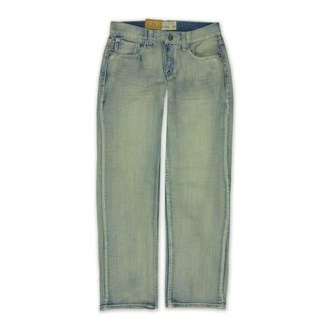 Ecko Unltd. Mens Bowens Wsh Fit C Plus Denim Relaxed Jeans, blue, 28W x 32L - 28W x 32L