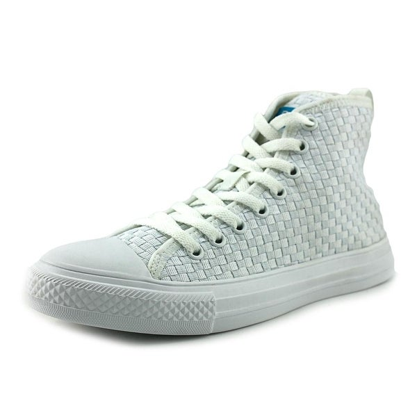 People Footwear The Phillips High Women Round Toe Synthetic White Sneakers