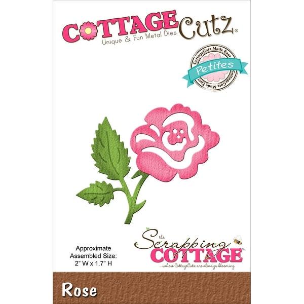 """CottageCutz Petites Die  -Rose 2""""X1.7"""""""