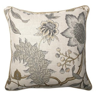 16.5 Jacobean Flair Vermeil Corded Indoor Throw Pillow