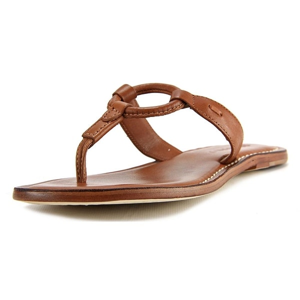 Bernardo Matrix Flat   Open Toe Leather  Flip Flop Sandal