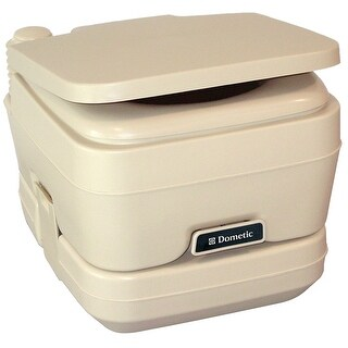 Dometic corporation dometic 964 portable toilet 2.5 gallon parchment 311096402