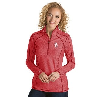 University of Oklahoma Ladies Tempo 1/4 Zip Pullover