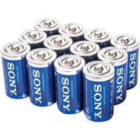 Sony Sd-12Bulk Stamina(R) Plus Alkaline Bulk Batteries (D; 12 Pk)
