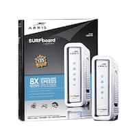 ARRIS SURFboard SB6141 8x4 DOCSIS 3.0 Cable Modem White