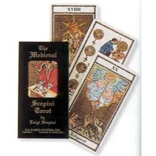 Medieval Scapini tarot deck by Scapini & Luigi