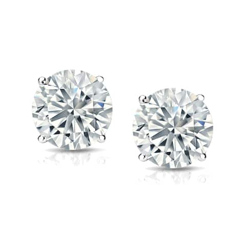 14k Gold 1 1/4ct TDW Lab Grown Diamond Stud Earrings by Ethical Sparkle