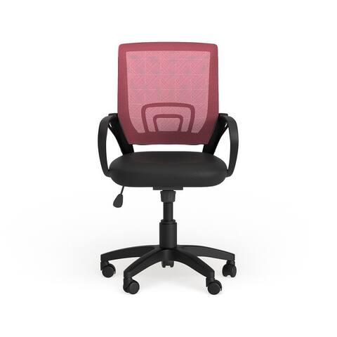Porch & Den Krog Mesh Back Office Chair, Multiple colors