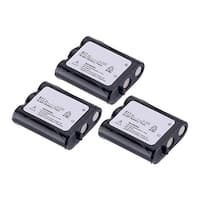 Replacement Battery For Panasonic KX-TGA510M Cordless Phones - P511 (850mAh, 3.6v, NiCD) - 3 Pack