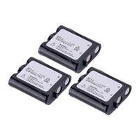 Replacement Battery For Panasonic KX-TG2740 Cordless Phones - P511 (850mAh, 3.6v, NiCD) - 3 Pack