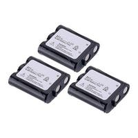 Replacement For Panasonic HHR-P402A Cordless Phone Battery (850mAh, 3.6v, NiCD) - 3 Pack