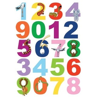 Brewster 350-0100 Numbers Wall Decals