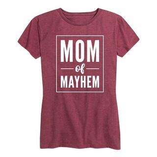 Mom Of Mayhem - Ladies Short Sleeve Classic Fit Tee