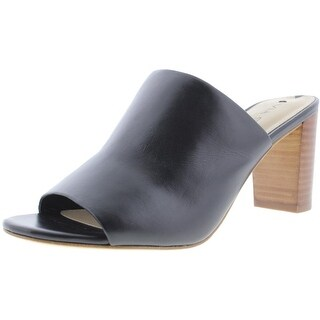 Via Spiga Womens Wynola Leather Slide Mules - 5.5 medium (b,m)