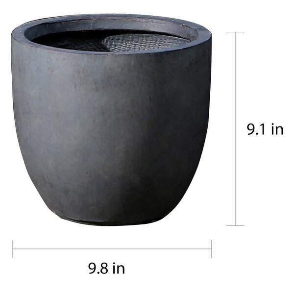 MgO Round Indoor/Outdoor Planter