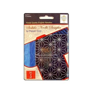Colonial Ndl Hand Needle Sashiko Sampler Ast 10pc