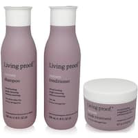 Living Proof Restore -3 Item Value Set - 1 Shampoo(8Oz)1 Conditioner (8Oz)1  Mask
