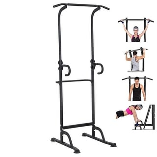 Link to Multi-Function Indoor Power Tower Pull Up Dip Station Gym Equipment Stable Exercise Fitness - Medium Similar Items in Fitness & Exercise Equipment