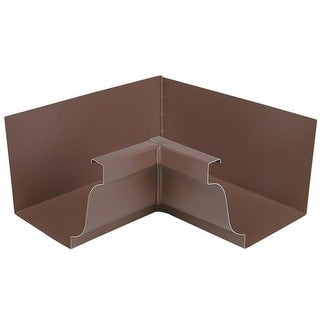 Amerimax Home Products Brown Inside Mitre 2520119 Unit: EACH