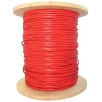 Offex 2 Fiber Indoor Distribution Fiber Optic Cable, Multimode, 62.5/125, Orange, Riser Rated, Spool, 1000 foot