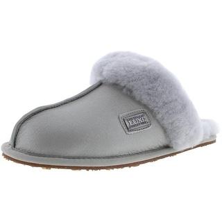 Australia Luxe Womens Casual Sheepskin Mule Slippers