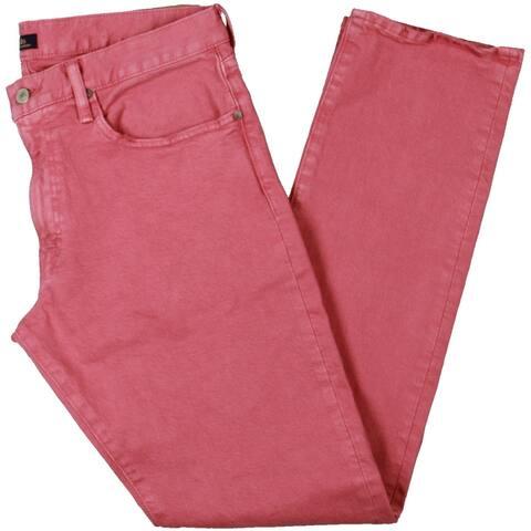 Polo Ralph Lauren Mens Varick Straight Leg Jeans Denim Slim - Red