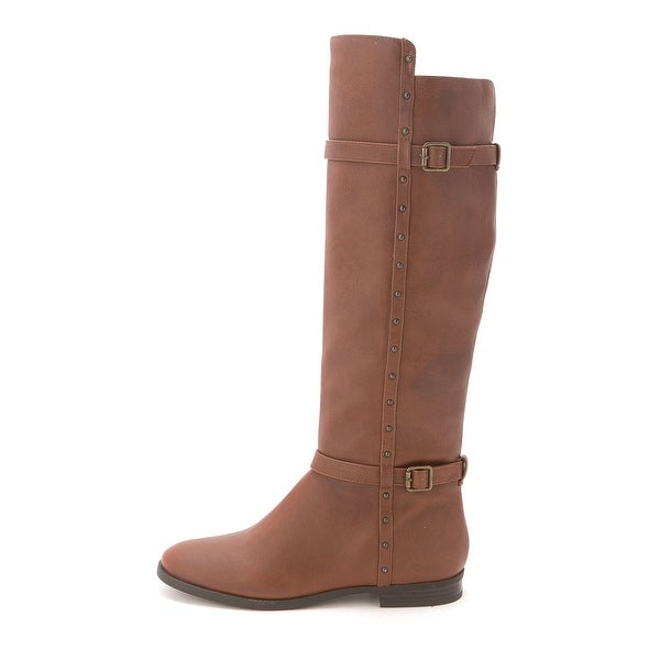 INC International Concepts Women's Ameliee Knee High Riding Boots