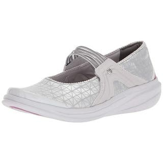 f4d0b7aeafd Buy Grey Bzees Women s Flats Online at Overstock