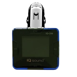 """Link to Supersonic Wireless FM Transmitter with 1.4"""" Display Similar Items in MP3 & iPod Accessories"""