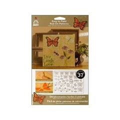 FolkArt 5202 Easy to Paint, Rub-On-Butterflies