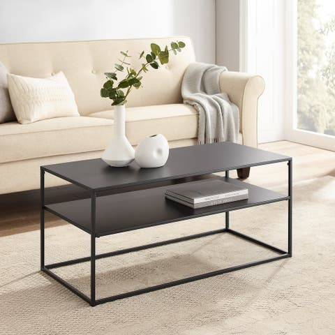 Braxton Coffee Table - 38 W x 18 D x 17 H