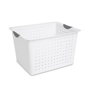 Sterilite 16288006 Deep Ultra Basket, White
