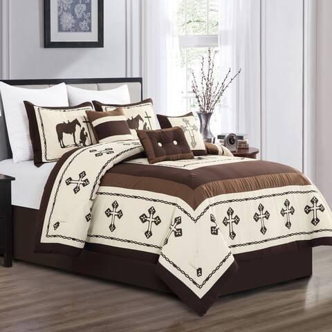 KROSS Luxury 7 Piece Comforter