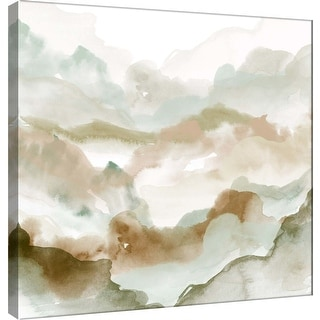 "PTM Images 9-100485  PTM Canvas Collection 12"" x 12"" - ""Layers of Autumn A"" Giclee Mountains Art Print on Canvas"