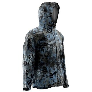 Huk Men's Camo Kryptek Neptune Large Packable Jacket