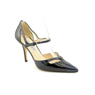 Charles David Devera Women Pointed Toe Patent Leather Black Heels