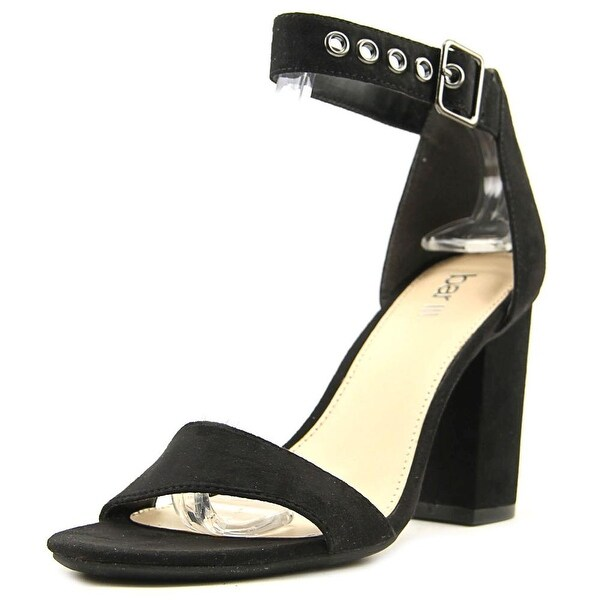Bar III Mikayla Women Black Sandals
