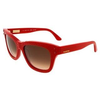 Valentino V679/SR 627 Rouge Rectangle Sunglasses