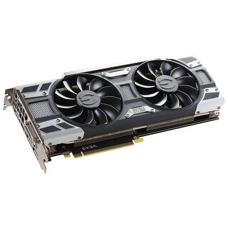 EVGA NVIDIA GeForce GTX 1080 GAMING 8GB GDDr5X ACX 3.0 Cooling Graphics Card - Black