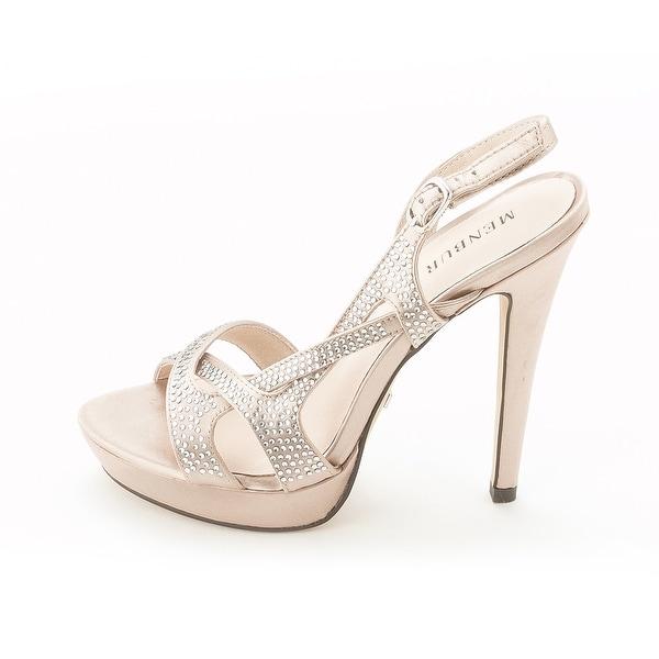 Menbur Womens MENBUR Open Toe Special Occasion Slingback Sandals