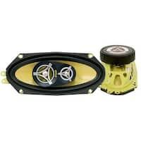 4'' x 10'' 300 Watt Three-Way Speakers