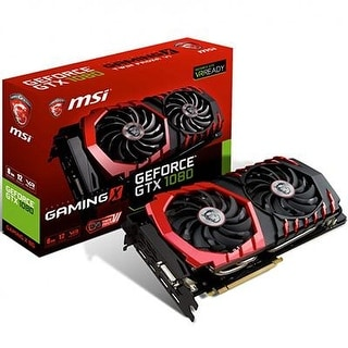 Msi Computer Gtx 1080 Gaming X 8G Nvidia Geforce Gddr5x Dvi/Hdmi/3Displayport Pci-Express Video Card