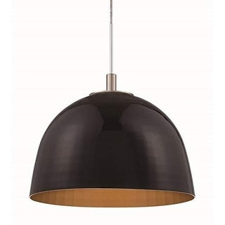 Forecast Lighting FQ0067872 A La Carte Black Metal Shade from the Reflector Coll