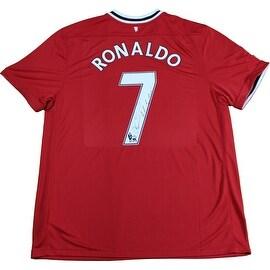 Cristiano Ronaldo signed Retro Manchester United Jersey ()