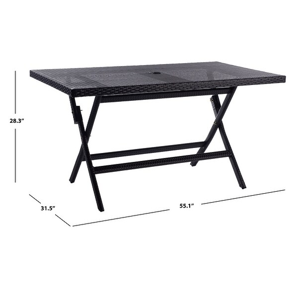 SAFAVIEH Outdoor Living Akita Folding Table