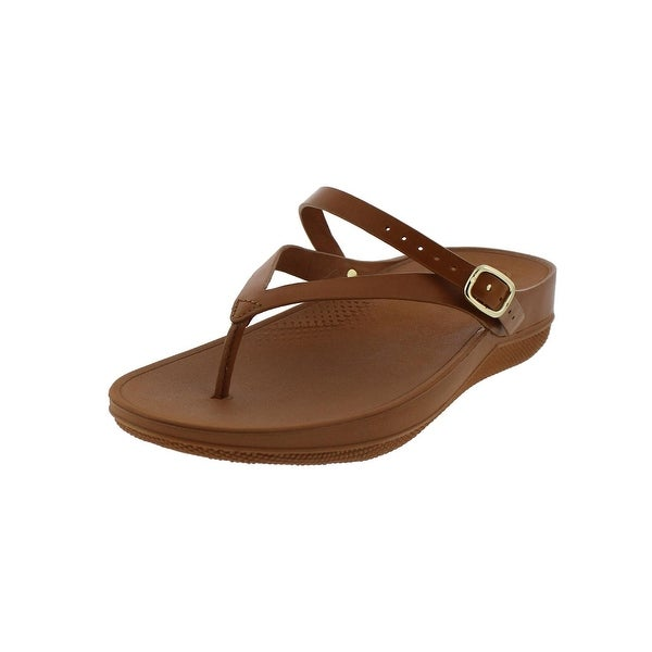 dc73237ce0c69 Shop Fitflop Womens Flip Wedge Sandals Microwobbleboard - Free ...