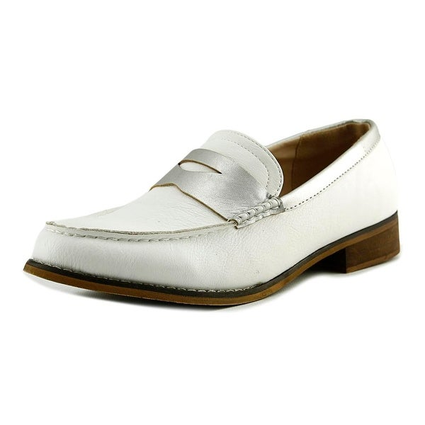 Wanted Crew Women Round Toe Synthetic Ivory Loafer