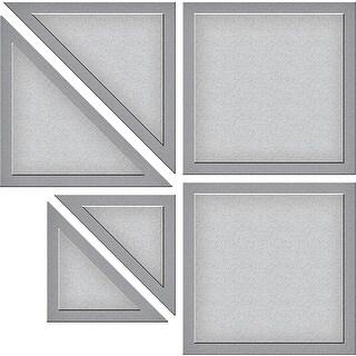 Spellbinders Shapeabilities Die D-Lites By Lene Lok-Quilt It-Block Quilt