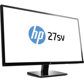 "HP 27SV 27"" IPS LED Full HD Monitor 1920x1080 60Hz 7ms VGA HDMI DVI"
